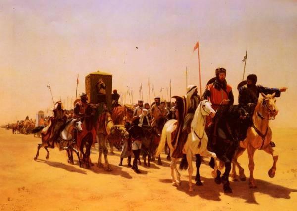 Richard Coeur De Lion On His Way To Jerusalem